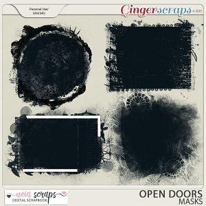 Open Doors - Masks - by Neia Scraps