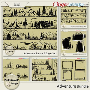 Adventure Masks & Stamps Bundle