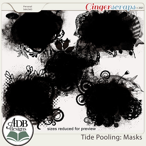Tide Pooling Masks by ADB Designs