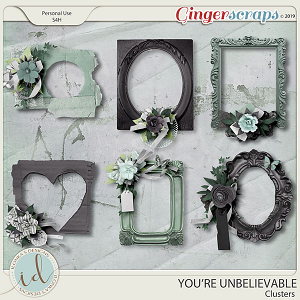 You're Unbelievable Clusters by Ilonka's Designs