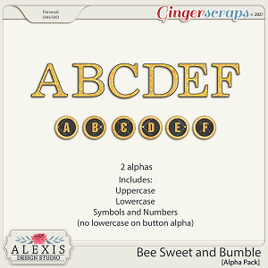 Bee Sweet and Bumble - Alphas