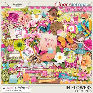 In Flowers - Elements - by Neia Scraps