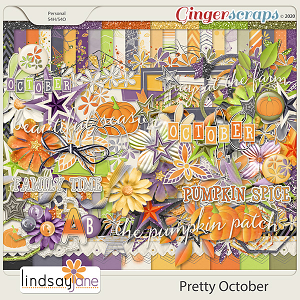 Pretty October by Lindsay Jane