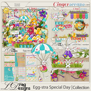 Egg-stra Special Day: The Collection by LDragDesigns