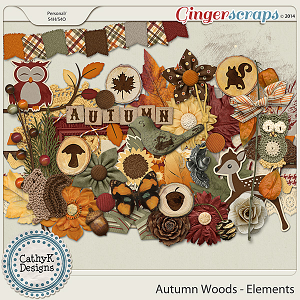 Autumn Woods - Elements