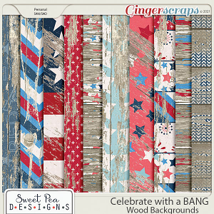 Celebrate with a Bang Wood Backgrounds