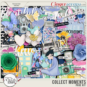 Collect Moments - Page Kit - by Neia Scraps