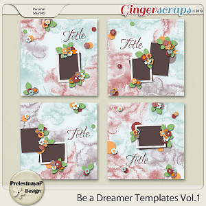 Be a Dreamer Templates Vol.1