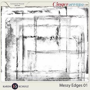 Messy Edges 01 by Karen Schulz