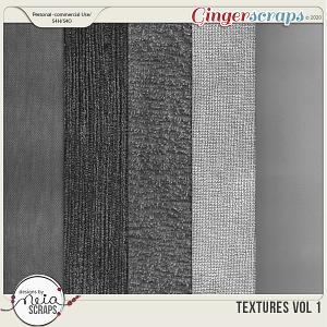 Textures - VOL 01 - by Neia Scraps - CU