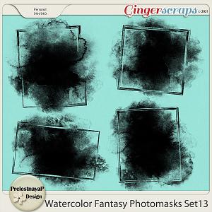 Watercolor fantasy Photomasks Set13