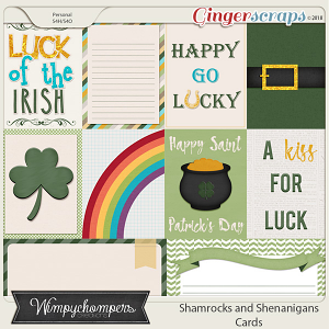 Shamrocks and Shenanigans- Cards