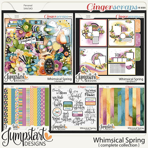 Whimsical Spring {Complete Collection} by Jumpstart Designs