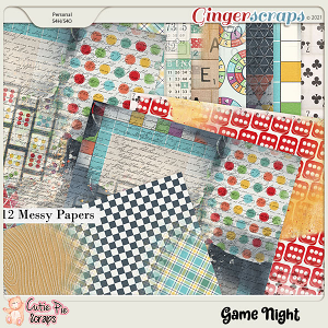 Game Night Messy Papers