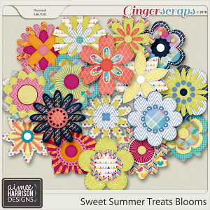 Sweet Summer Treats Blooms by Aimee Harrison