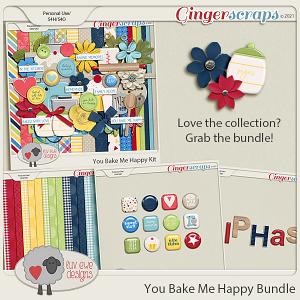 You Bake Me Happy Bundle by Luv Ewe Designs