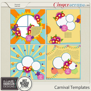 Carnival Templates by Aimee Harrison and JB Studio