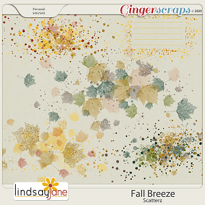 Fall Breeze Scatterz by Lindsay Jane