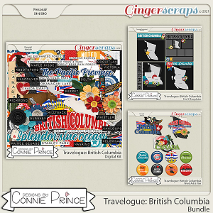 Travelogue British Columbia Canada - Bundle Pack by Connie Prince