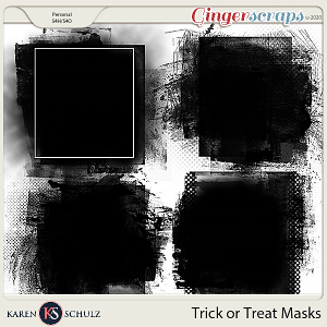 Trick or Treat Masks by Karen Schulz