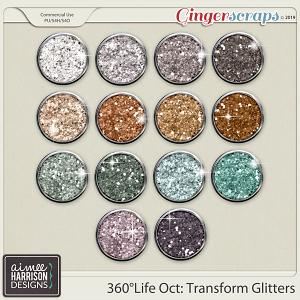 360°Life Oct: Transform Glitters by Aimee Harrison