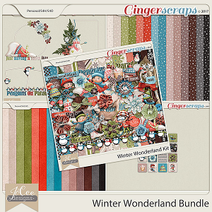 Winter Wonderland Bundle by JoCee Designs