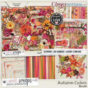 Autumn Colors - Bundle - by Neia Scraps