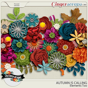 Autumn is Calling - Elements Too by Lisa Rosa Designs
