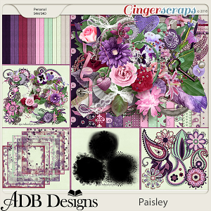 Paisley Bundle by ADB Designs