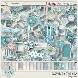 Down By The Sea Mega Kit by Ilonka's Designs