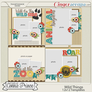 Wild Things - 12x12 Temps (CU Ok)