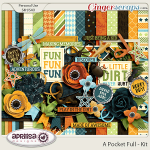 A Pocket Full - Kit by Aprilisa Designs