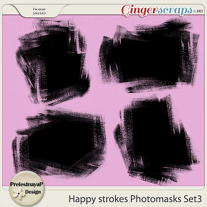 Happy Strokes Photomasks Set3