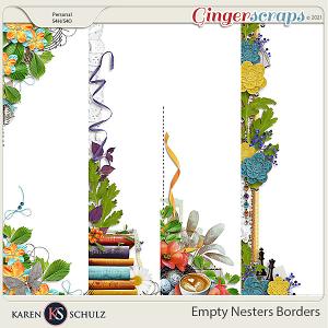 Empty Nesters Borders by Karen Schulz