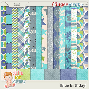 Blue Birthday Papers