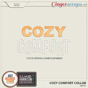 Cozy Comfort Alphas by JB Studio and Aimee Harrison Designs