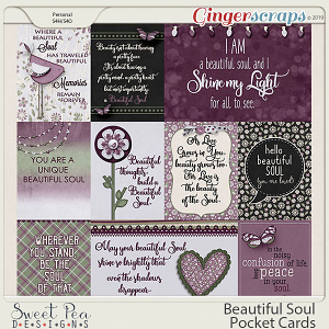 Beautiful Soul Pocket Cards