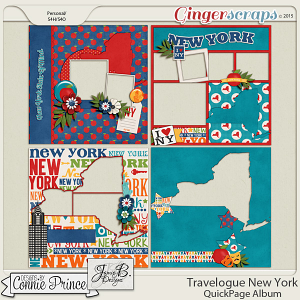 Travelogue New York - QuickPage Album