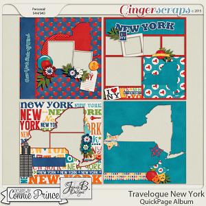 Travelogue New York - QuickPage Album