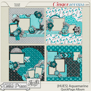 {HUES} Aquamarine - QuickPages