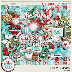 Jolly Season Page Kit by JB Studio