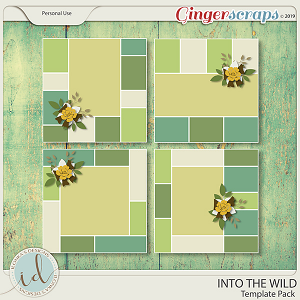 Into The Wild Templates by Ilonka's Designs