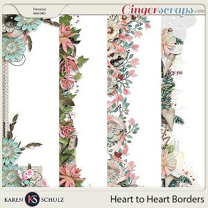 Heart to Heart Borders by Karen Schulz
