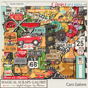 Cars Galore (page kit)