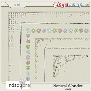 Natural Wonder Edges by Lindsay Jane