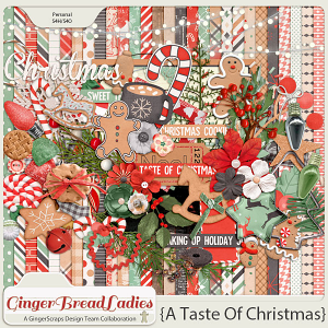 GingerBread Ladies Collab: A Taste Of Christmas