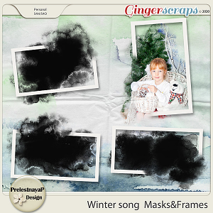 Winter song Masks & Frames