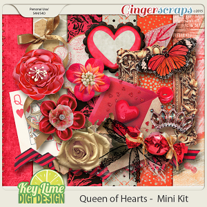 Queen of Hearts Mini Kit
