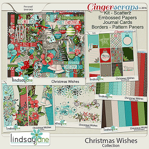 Christmas Wishes Collection by Lindsay Jane