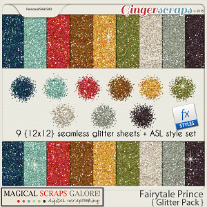 Fairytale Prince (glitter pack)
